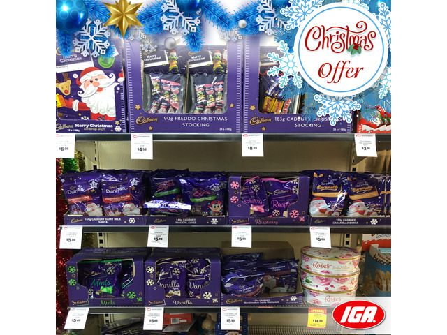 Cadbury - Christmas Offer - IGA Ravenswood - 1