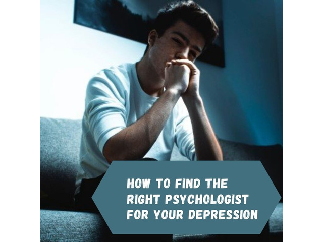 How to Find the Right Psychologist for Your Depression - 1