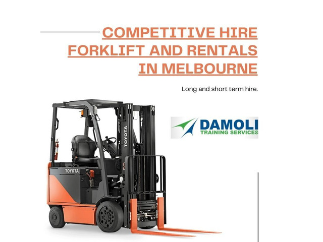 Competitive Hire Forklift and rentals in Melbourne - 1