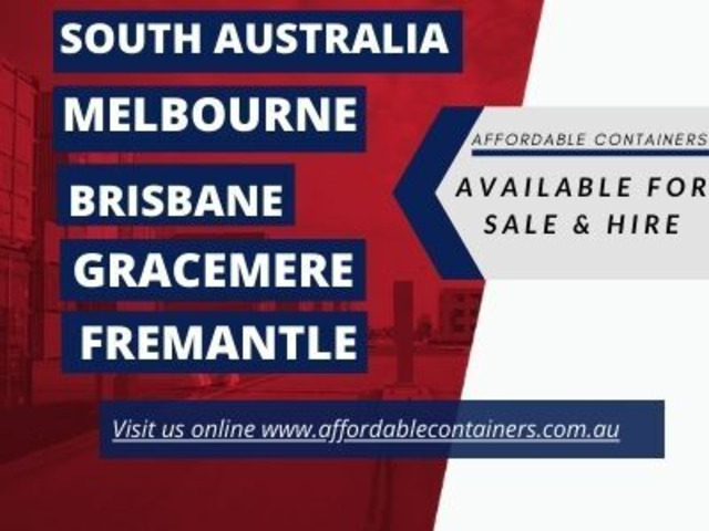 Shipping containers for sale South Australia -Affordable Containers - 1