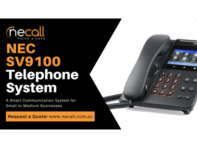 NEC SV9100 Telephone System for Small to Medium Businesses - 1