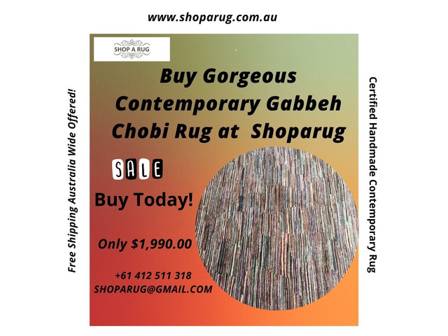 Contemporary Gabbeh Chobi Rug on Sale - Shoparug - 1