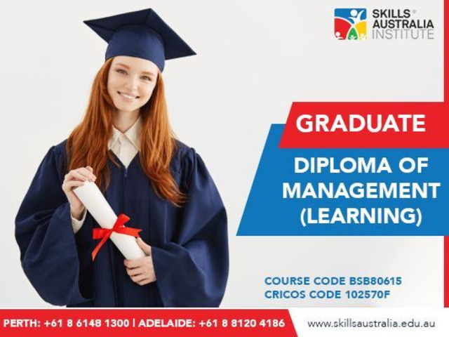 Become a general manager with our graduate diploma of management (learning) - 1