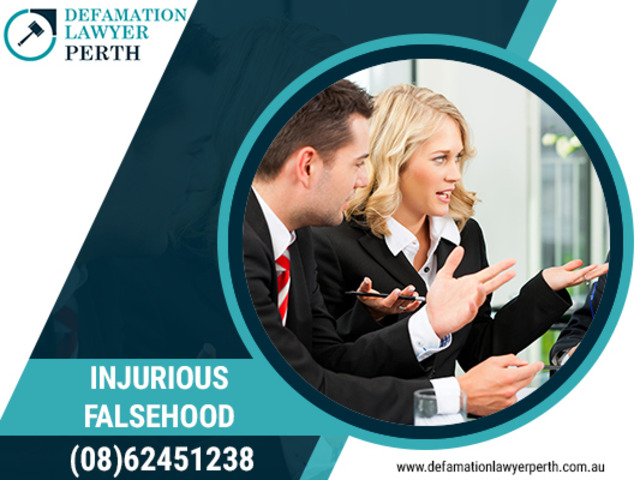Take legal action in case of injurious falsehood! Contact Defamation Lawyer Perth - 1