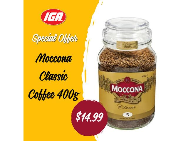 Moccona Classic Coffee at IGA Ravenswood - 1