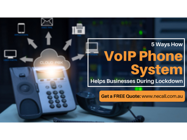 How VoIP Telephone Systems Help Businesses During COVID-19? - 1