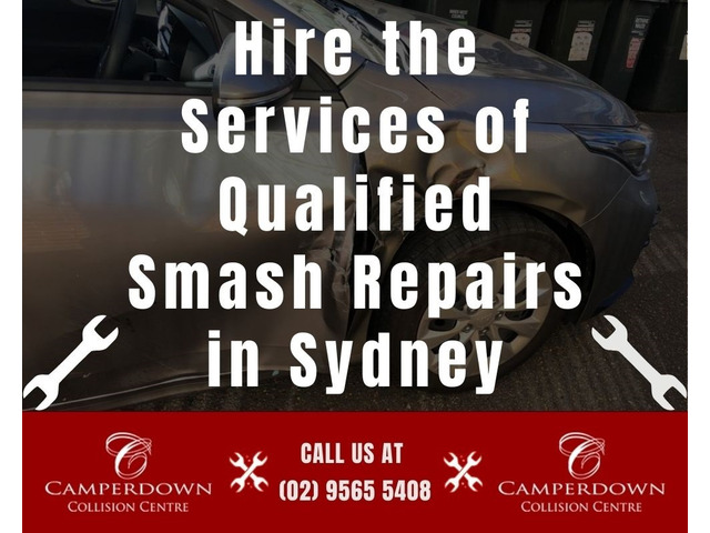 Hire the Services of Qualified Smash Repairs in Sydney - 1