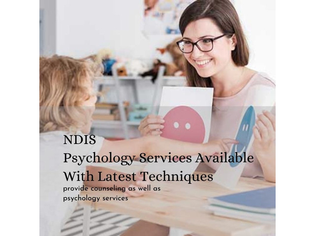 NDIS Psychology Services Available With Latest Techniques - 1
