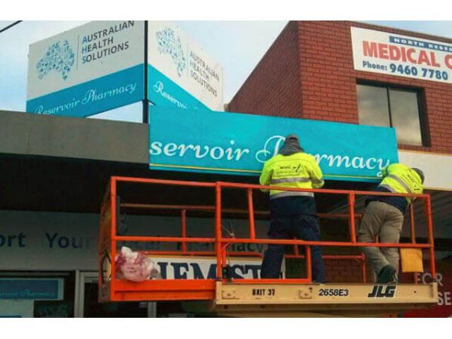 Hoarding Signage Melbourne - 1