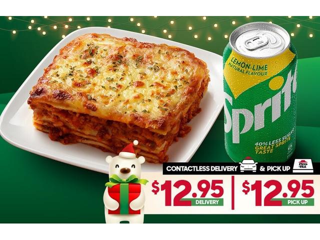 PASTA COMBO On Sale Pizza Hut Moorebank - Moorebank, NSW - 1