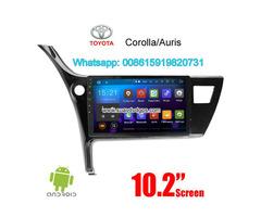 Toyota Corolla Auris 2017 audio radio Car android wifi GPS camera