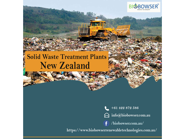 Solid Waste Treatment Plants New Zealand - 1