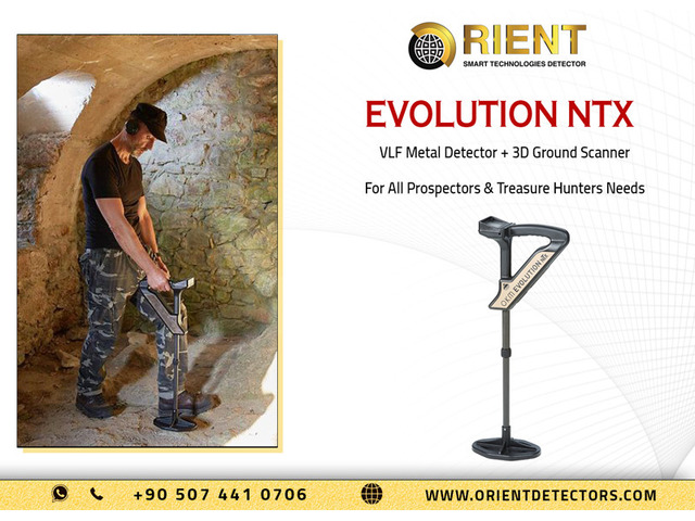 Evolution NTX Ground Scanner & Metal Detector in One Device - 1