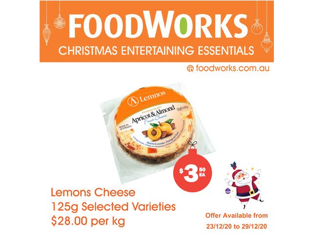 Lemons Cheese  - Essential Item, FoodWorks Clovelly - 1