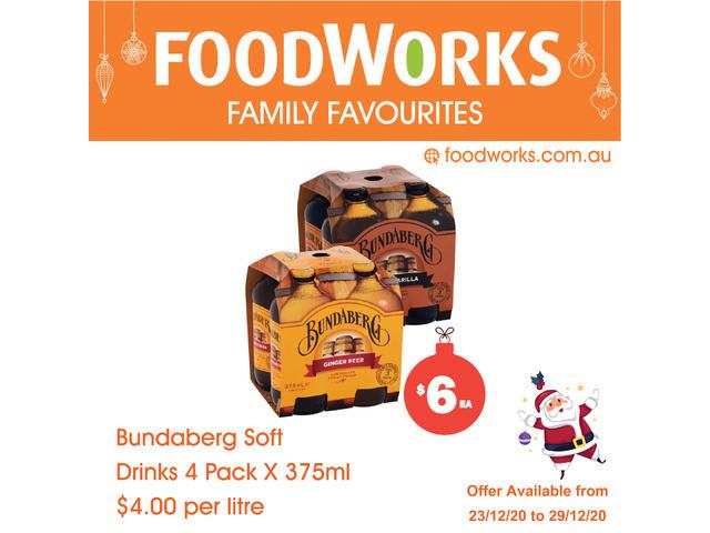 Bundaberg Soft Drink - Essential Item, FoodWorks Clovelly - 1
