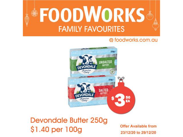 Devondale Butter  - Essential Item, FoodWorks Clovelly - 1