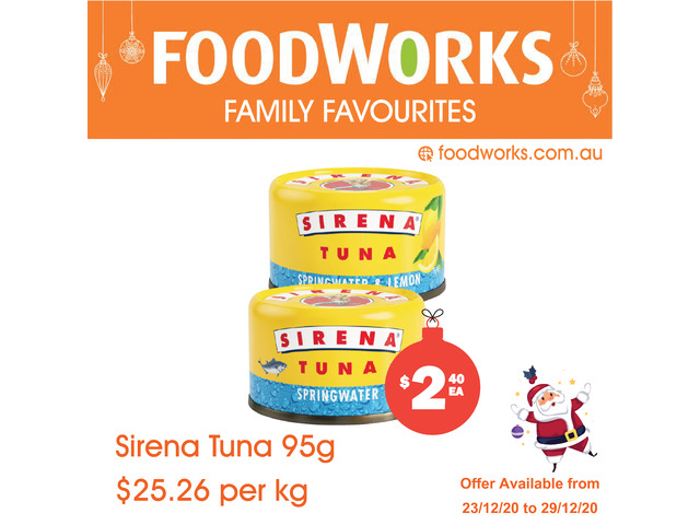 Sirena Tuna - Essential Item, FoodWorks Clovelly - 1