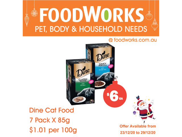 Dine Desire Cat Food - Essential Item, FoodWorks Clovelly - 1