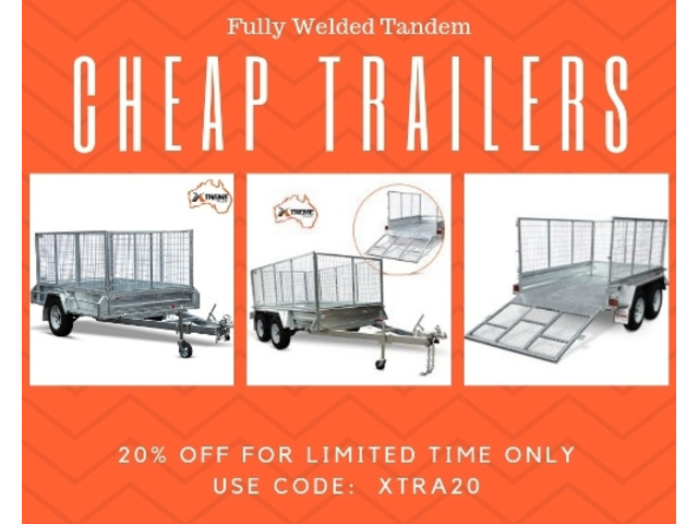 Visit Now and Buy an Exclusive Collection of Cheap Trailers - 1