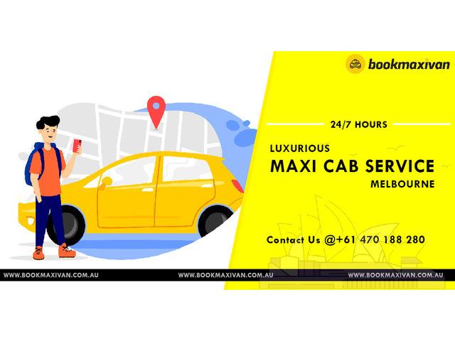 Melbourne Taxi Cab For Airport Transfer | Book Maxi Cab - 1