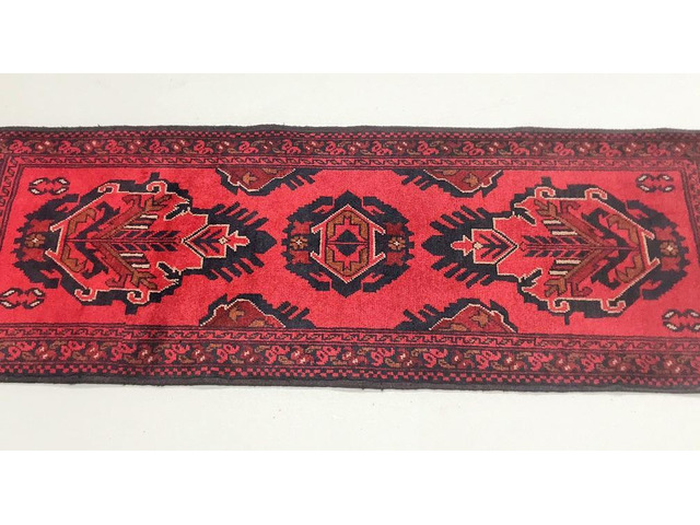 Afghan Khal Mou Runner Rug on Sale at Shoparug - 1