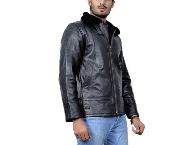 New York Shearling Leather Jacket - 3