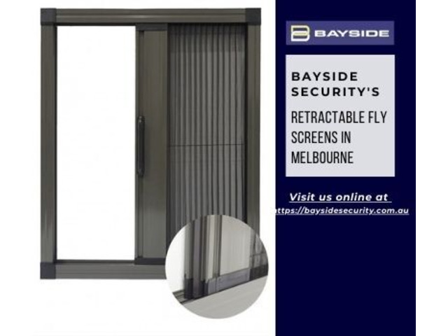 Best Retractable fly screens in Melbourne for Home – Bayside Security - 1