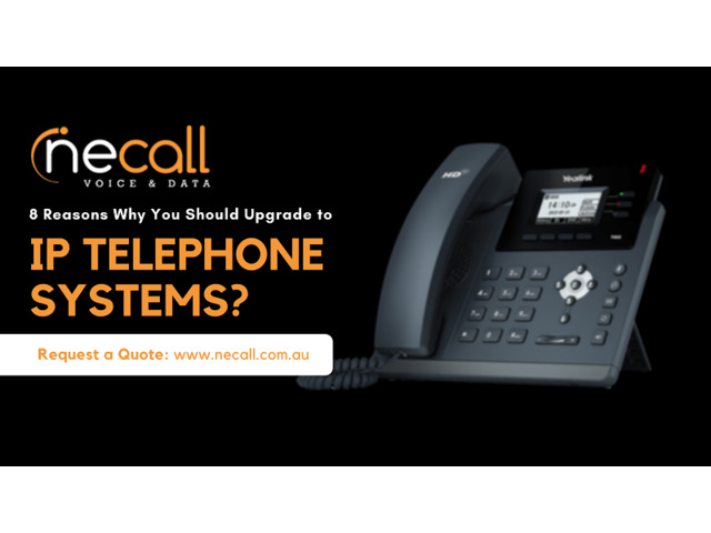 8 Reasons Why You Should Upgrade to IP Telephone System - 1