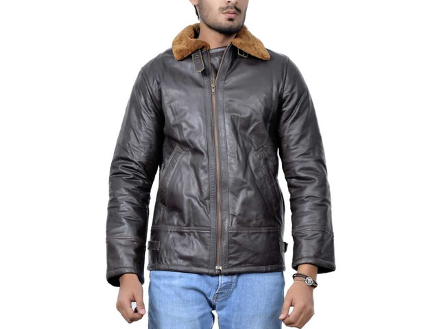 Orleans Leather Jacket For Mens - 1