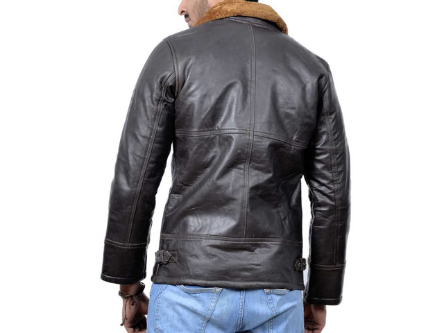 Orleans Leather Jacket For Mens - 2