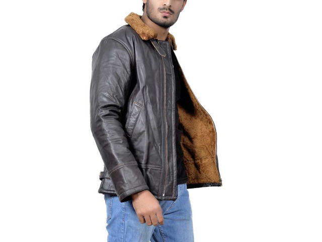 Orleans Leather Jacket For Mens - 3