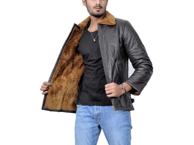 Orleans Leather Jacket For Mens - 4