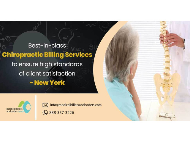 Best-in-class Chiropractic Billing Services - New York - 1