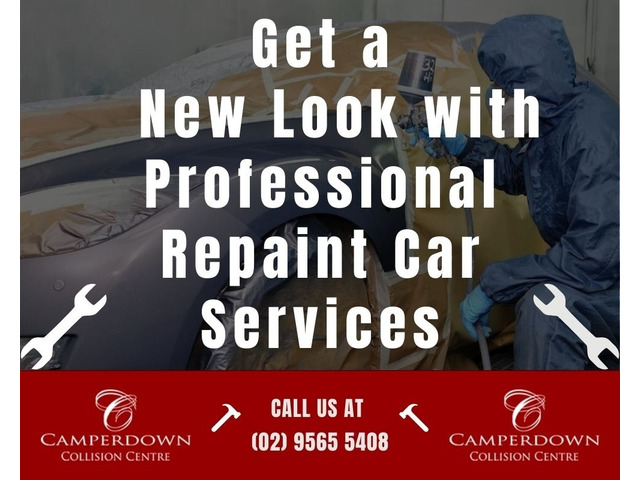 Get a New Look with Professional Repaint Car Services - 1