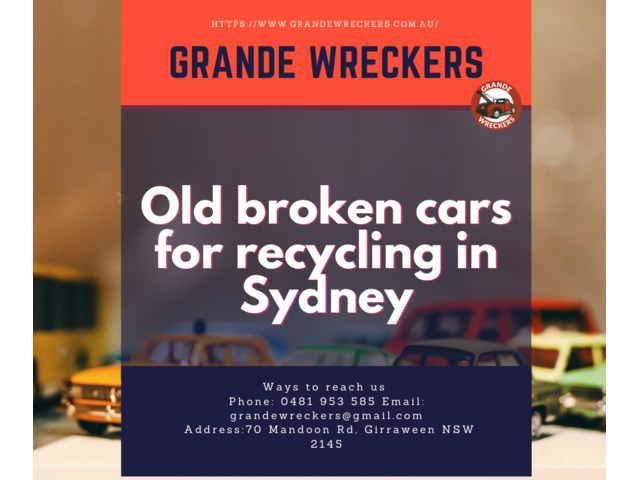 ApproacH GRANDE WRECKERS Cash For Cars. - 1