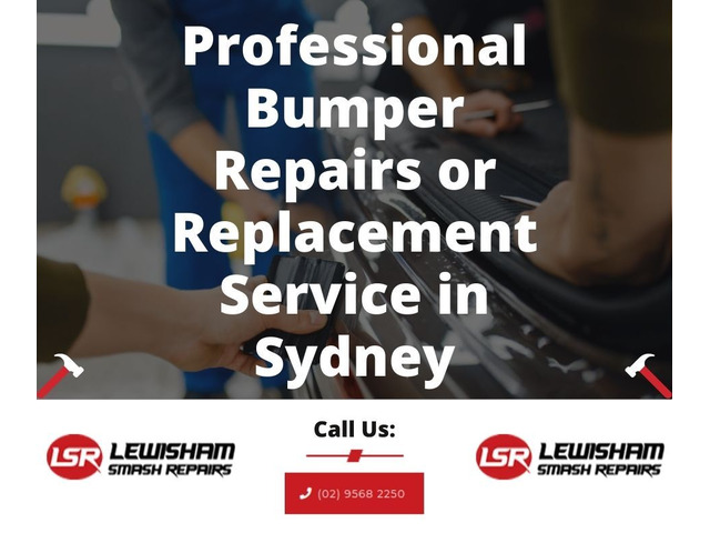 Professional Bumper Repairs or Replacement Service in Sydney - 1