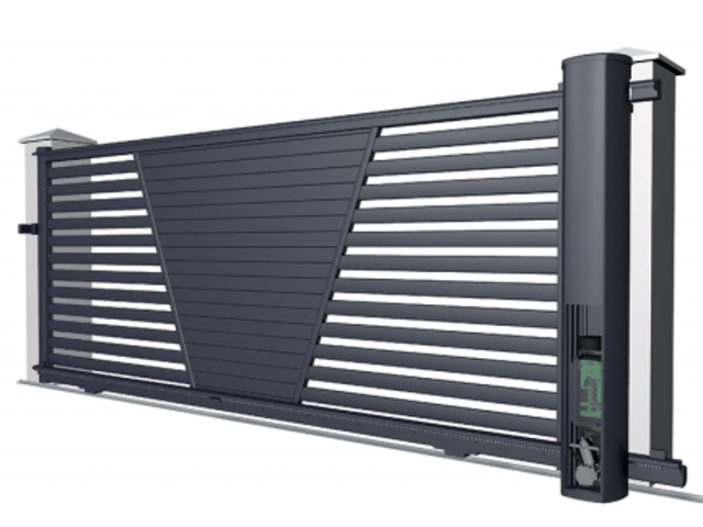 Slat Gates Fencing in Perth- Available Top Gates & Screen  Elite Gates - 1