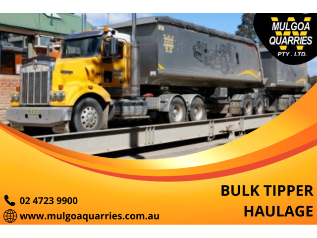 Do you need a Bulk Tipper Transport Services in Sydney? - 1