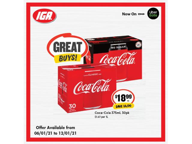 Coca-Cola at IGA Ravenswood - 1