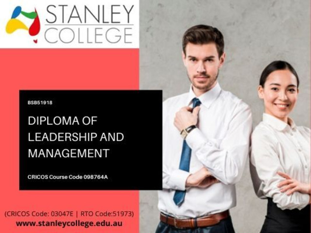 Don't wait for a leader, be a leader by enrol in diploma management courses - 1