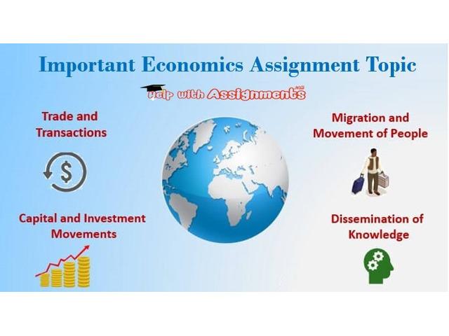 Important Economics Assignment Topic - 1