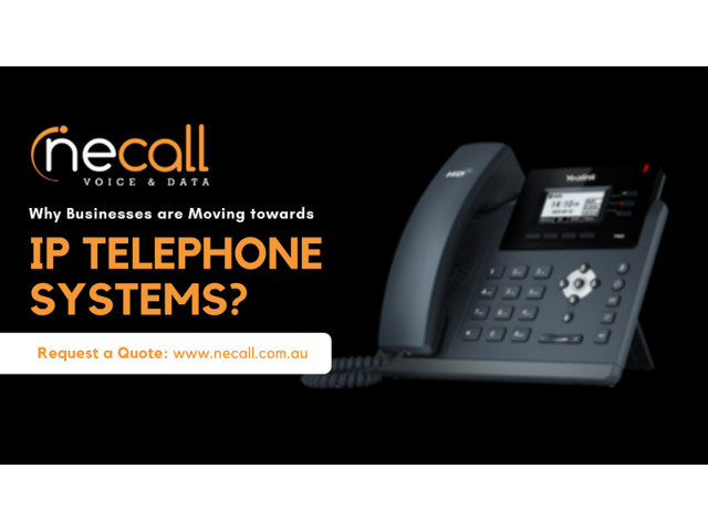 Why Businesses are Moving towards IP Telephone System? - 1