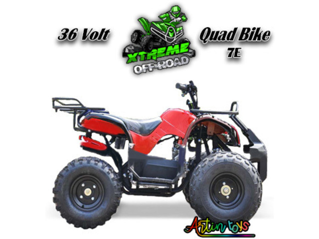 Buy Kids Powerful 36 V 1000 W KIDS ELECTRIC ATV QUAD RED (7E) Bikes from Artintoys. - 1