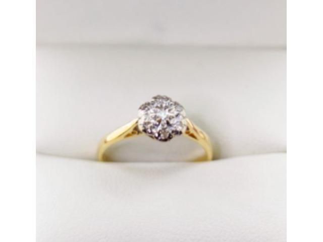 Beautiful & style Gold diamond rings  | VintageTimes - 1