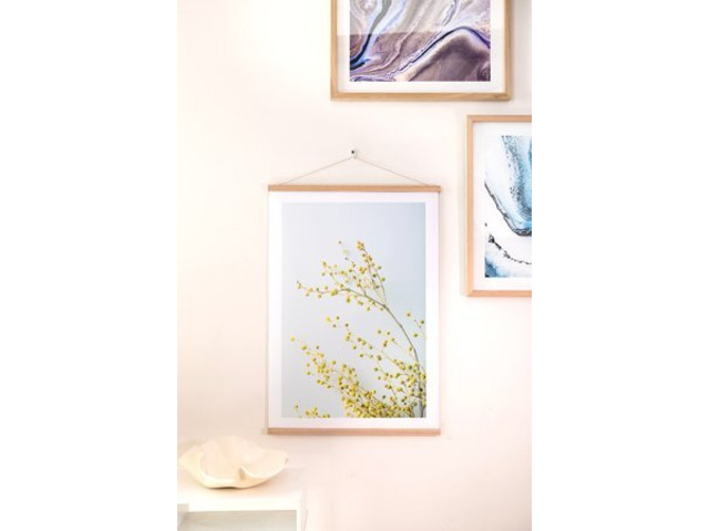 Oak Photo Rails — Fine Art Photographic Printing Melbourne - Matte Image - 1