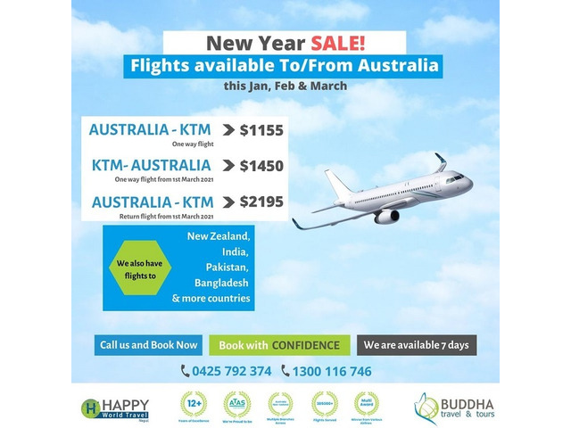 Looking For Affordable Flights From Melbourne To Kathmandu? - 1