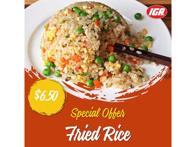 Fried Rice at IGA Ravenswood - 1
