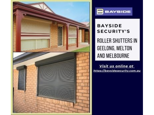 Buy roller shutters in Geelong, Melton and Melbourne areas - 1