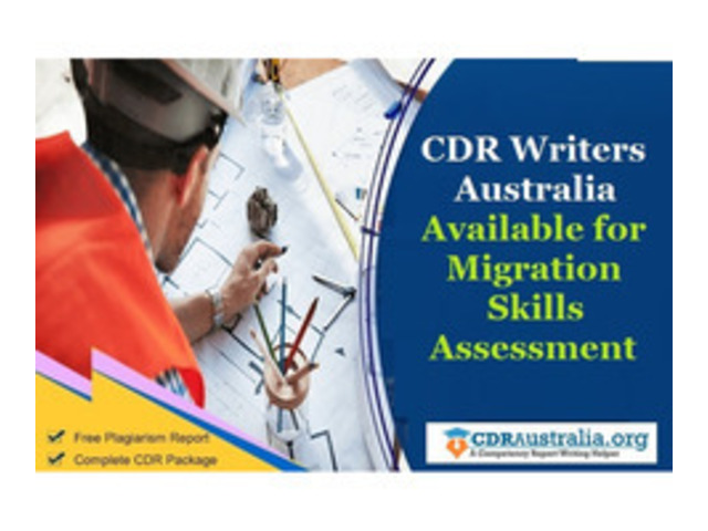 CDR Writers Australia Available for Migration Skills Assessment - 1