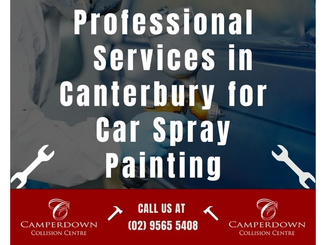 Professional Services in Canterbury for Car Spray Painting - 1